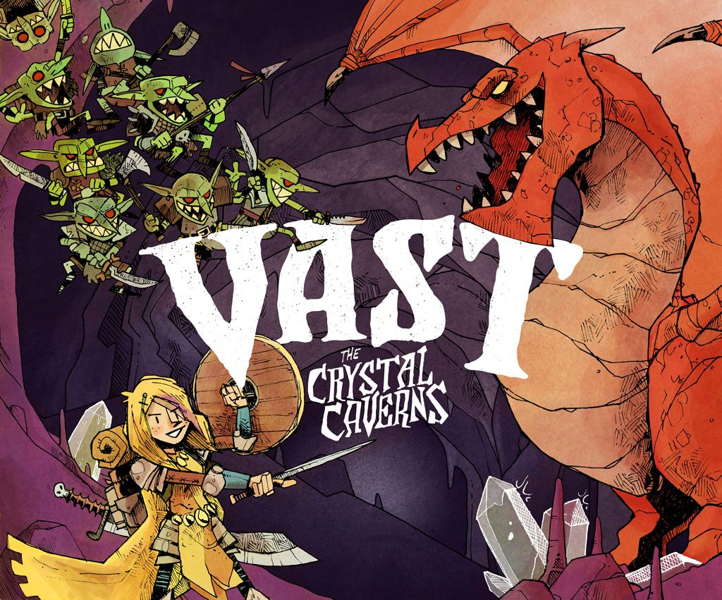 Vast the Crystal Caverns