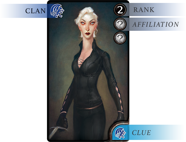 Blood Bound Clan Card